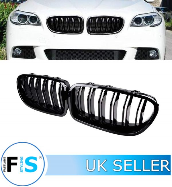 BMW F10 F11 5 SERIES FRONT GRILLE DOUBLE SLAT