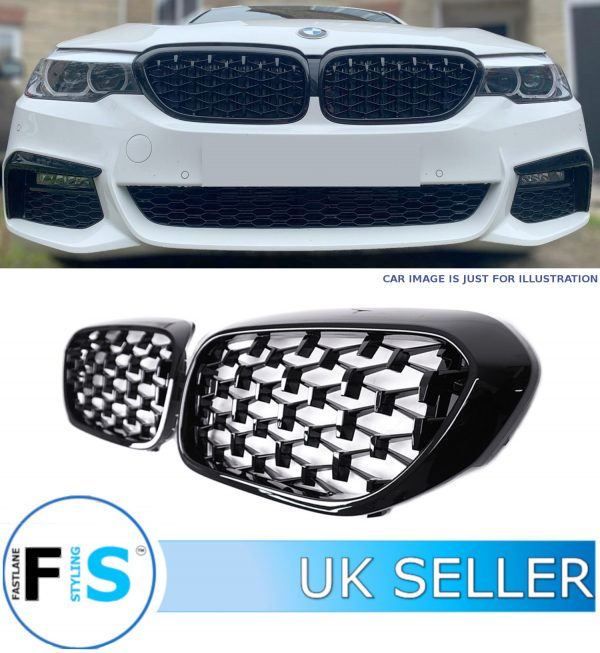 BMW 5 SERIES G30 G31 DIAMOND STYLE FRONT GRILLE