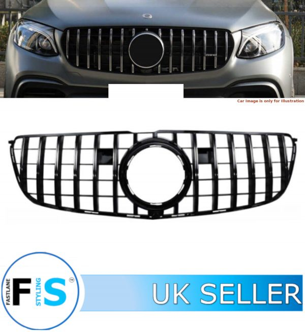 MERCEDES GLS CLASS X166 FRONT GRILLE PANAMERICANA GT