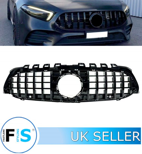MERCEDES A CLASS W177 FRONT GRILLE PANAMERICANA GT STYLE