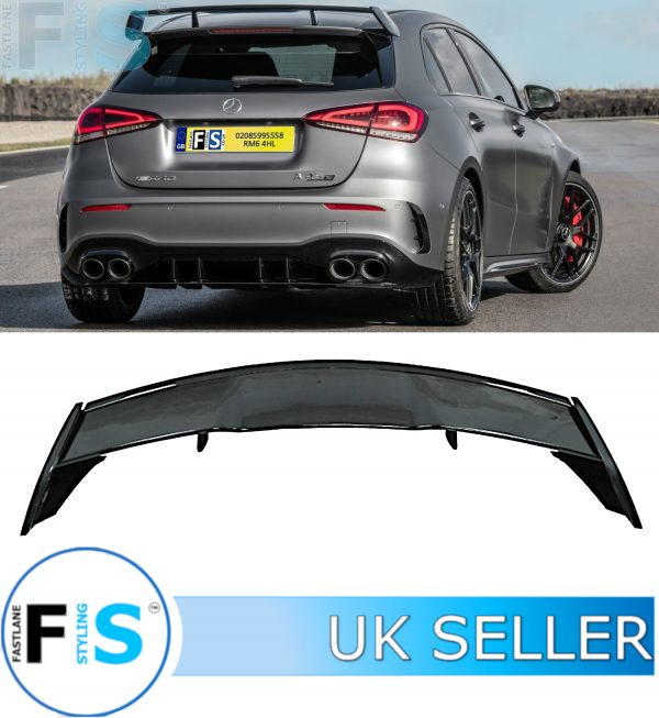 MERCEDES A CLASS W177 A45 AMG LOOK REAR SPOILER