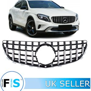 MERCEDES E CLASS C207 COUPE FRONT GRILLE PANAMERICANA GT STYLE