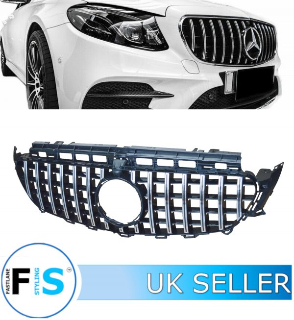 MERCEDES E-CLASS W213 FRONT GRILLE PANAMERICANA GT STYLE