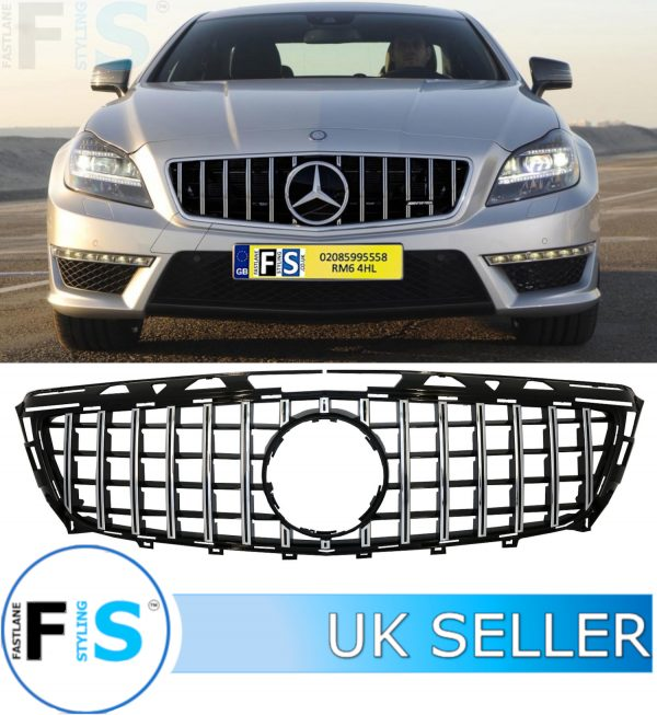 MERCEDES CLS W218 FRONT GT PANAMERICANA GT GRILLE
