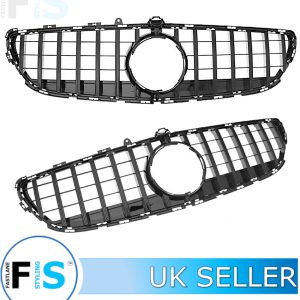 MERCEDES CLS W218 FRONT GT PANAMERICANA GRILLE