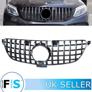 MERCEDES GLE C292 FRONT GRILLE GT STYLE