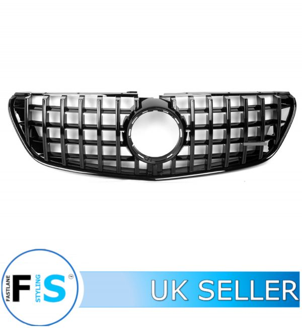 MERCEDES VITO CLASS W447 FRONT GRILLE PANAMERICANA GT STYLE