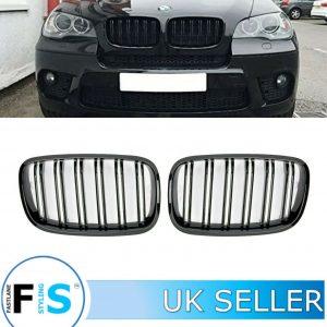 BMW X5 E70 X6 E71 FRONT BUMPER KIDNEY GRILLES