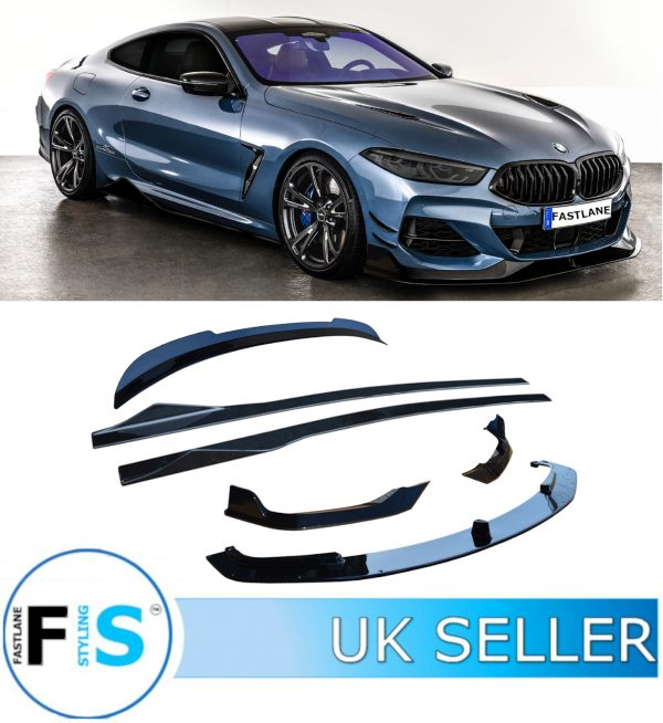 BMW 8 SERIES G16 G15 G14 GLOSS BLACK BODY KIT