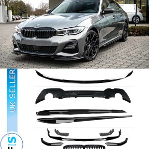 BMW 3 SERIES G20 KIT FRONT GRILL SPLITTER DIFFUSER SPOILER BLADES