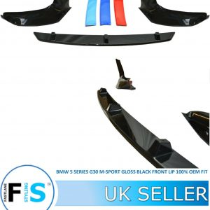 BMW 5 SERIES G30 G31 M SPORT 3 PIECE FRONT LIP SPLITTER
