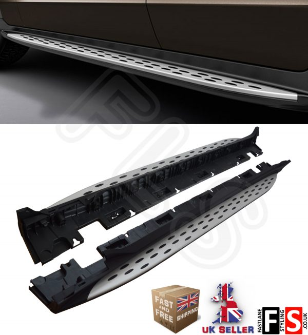 MERCEDES BENZ GLC (C253) COUPE 2015 UP 100% OEM STYLE SIDE STEPS RUNNING BOARDS