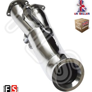 BMW E82 E88 135i E90 E92 335i Single Turbo N55 STAINLESS STEEL DECAT DOWNPIPE
