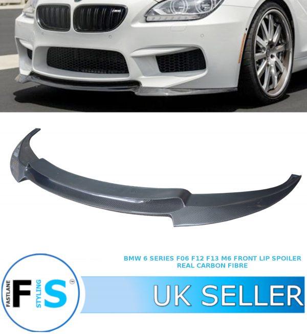 BMW 6 SERIES F06 F12 F13 M6 FRONT LIP SPLITTER SPOILER V STYLE