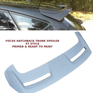 FORD FOCUS MK3 HATCHBACK REAR ROOF BOOT LIP SPOILER ST STYLE 12-13 UNPAINTED