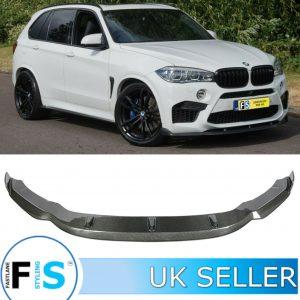 BMW X5M F85 X6M F86 M SPORT 3D STYLE CARBON FIBRE FRONT SPLITTER