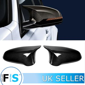 BMW M3 M4 F82 F83 F80 WING MIRROR COVER PAIR CARBON FIBRE