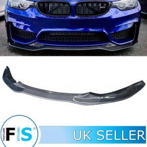 BMW M3 M4 F80 F82 F83 PSM STYLE FRONT LIP SPLITTER
