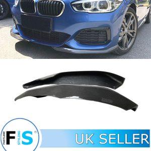 BMW 1 SERIES F20 F21 M SPORT FRONT BUMPER SPLITTER PODS