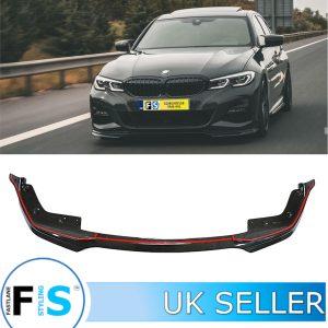 BMW 3 SERIES G20 G21 1-PIECE M SPORT CARBON FIBRE FRONT LIP