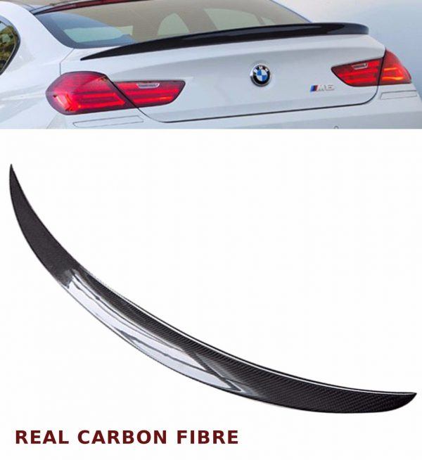 BMW 6 SERIES F12 F13 M6 REAR BOOT SPOILER