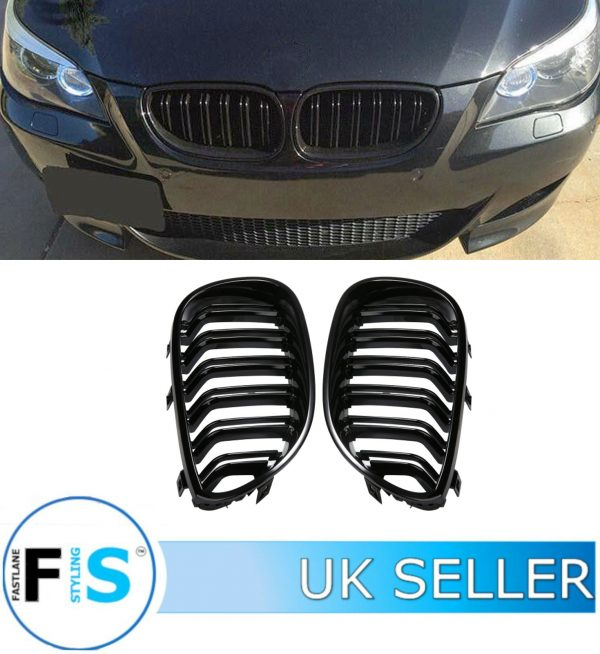 BMW E60 E61 5 SERIES M5 STYLE FRONT KIDNEY GRILLE