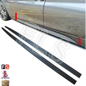 BMW 1 2 3 4 5 SERIES M SPORT SIDE SKIRT EXTENSION BLADES