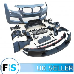 BMW 3 SERIES F30 F31 FRONT BUMPER BODY KIT WITH SPLITTER