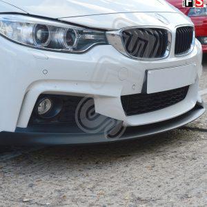 BMW 4 SERIES F32 F33 F36 FRONT DIFFUSER SPLITTER VALANCE LIP SPOILER SIDE SKIRTS