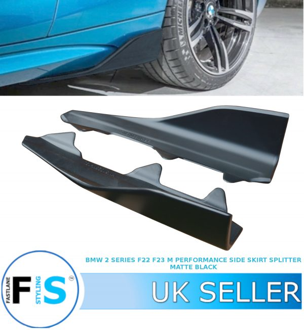 BMW 2 SERIES F87 M2 PERFORMANCE SIDE SKIRT EXTENSION