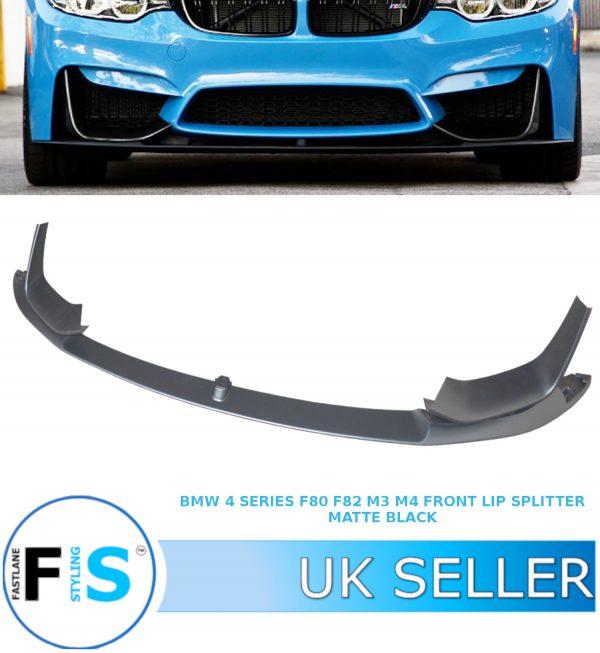 BMW M3 M4 F80 F82 F83 FRONT LIP SPLITTER