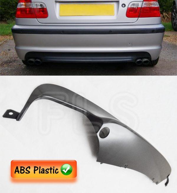 BMW 3 SERIES 1998-2006 E46 M SPORT REAR BUMPER DIFFUSER SPLITTER VALANCE 2D/4D