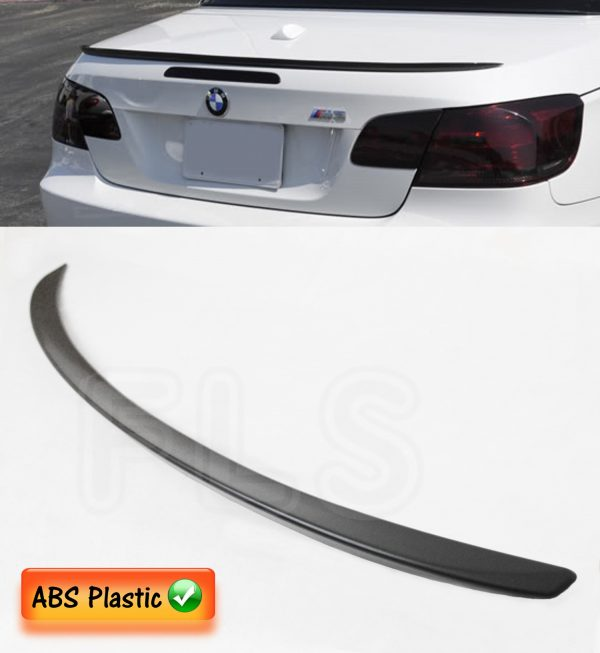 BMW 3 SERIES E92 M SPORT 2005+ REAR BOOT TRUNK SPOILER LIP LID WING M3 STYLE