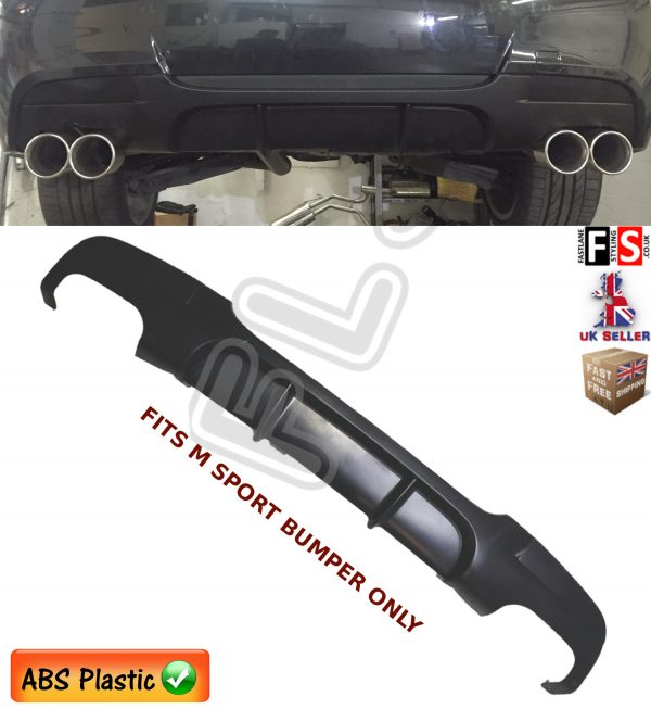 BMW 3 SERIES E90 E91 M SPORT PERFORMANCE REAR DIFFUSER EXHAUST VALANCE 04-12