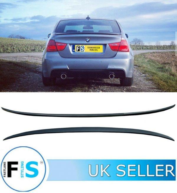 BMW 3 SERIES E90 M3 STYLE REAR BOOT LIP SPOILER