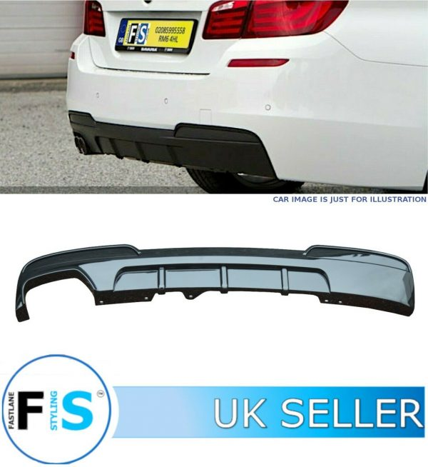 BMW 5 SERIES F10 F11 M SPORT REAR DIFFUSER