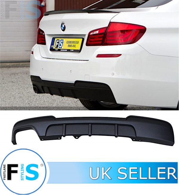 BMW 5 SERIES F10 F11 M PERFORMANCE REAR DIFFUSER