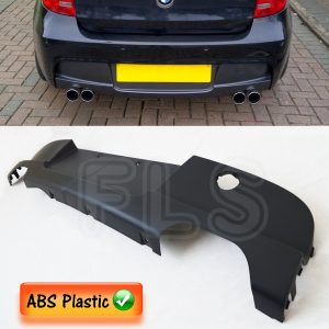 BMW 1 SERIES E81 E87 M SPORT PERFORMANCE REAR DIFFUSER EXHAUST VALANCE 04-12