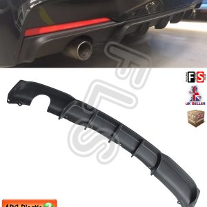 BMW 3 SERIES F30 F31 M SPORT PERFORMANCE REAR BUMPER DIFFUSER CARBON FIBRE LOOK