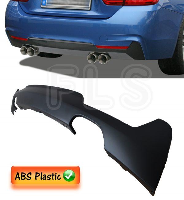 BMW F32 F33 F36 M SPORT BMW 4 SERIES REAR DIFFUSER SPLITTER VALANCE