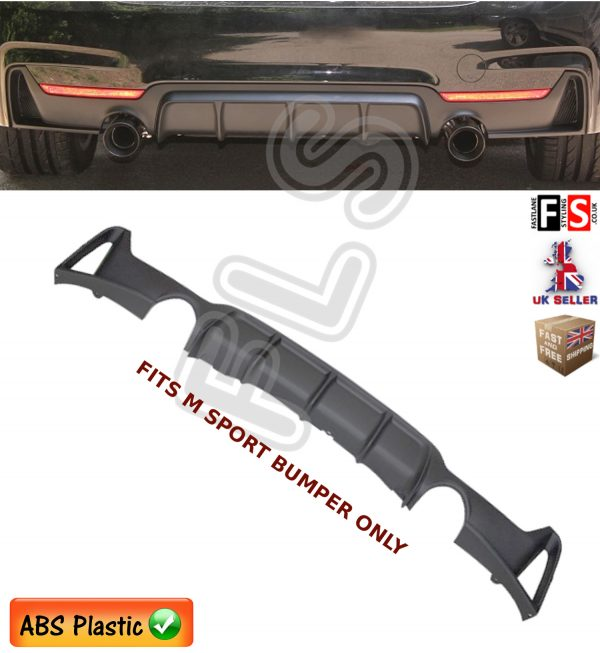 BMW 4 SERIES F32 F33 F36 M SPORT PERFORMANCE REAR DIFFUSER EXHAUST VALANCE 12 UP