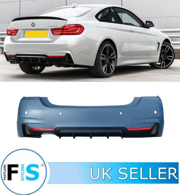 BMW 4 SERIES F32 F33 F36 M SPORT REAR BUMPER KIT