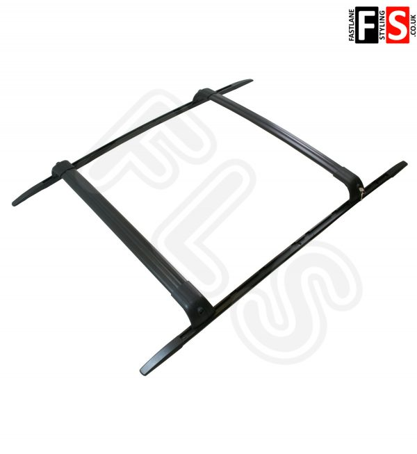 LAND ROVER DISCOVERY 3 & 4 ROOF RAILS & CROSS BARS T TRACK SYSTEM OEM STYLE