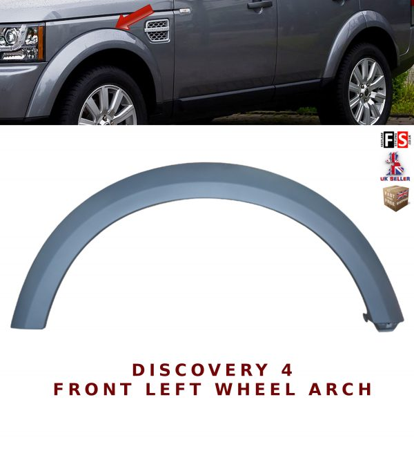 LAND ROVER DISCOVERY 4 LR4 WHEEL ARCH REPLACEMENT WHEEL ARCHES TRIM MOULDING