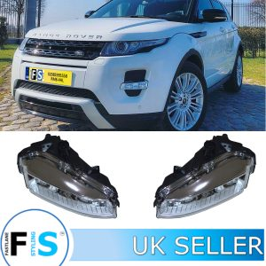 RANGE ROVER EVOQUE FRONT FOG LIGHTS LAMPS