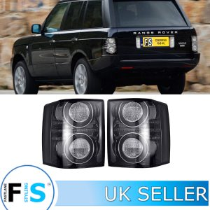 RANGE ROVER VOGUE L322 REAR LED TAIL LIGHT TINT SMOKED