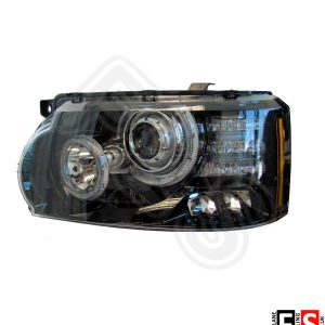 RANGE ROVER VOGUE L322 2010-13 HEADLIGHTS ASSEMBLIES PAIR CLEAR BI XENON LED 12