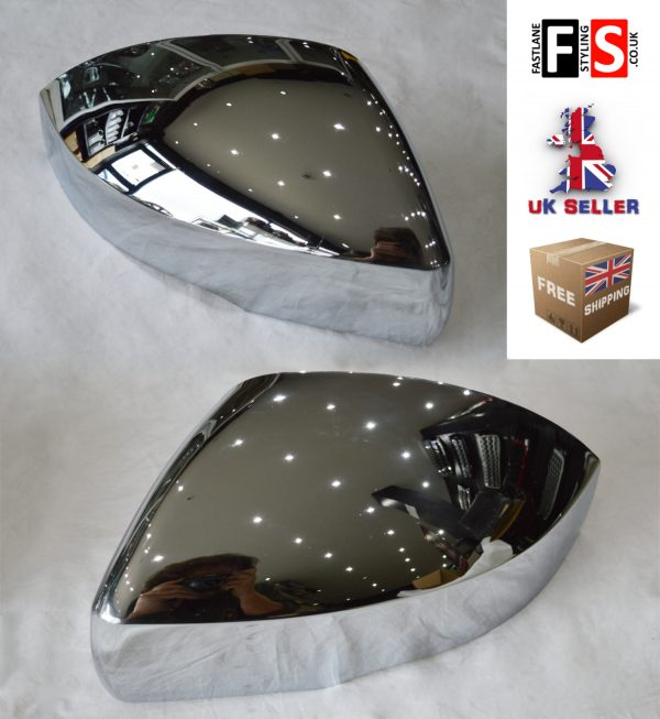 RANGE ROVER VOGUE L405 OEM REPLACEMENT MIRROR COVER 2013 UP CHROME LB-VG13-005-C