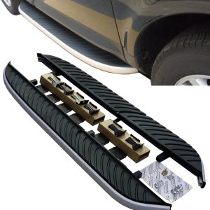 ORIGINAL STYLE SIDE STEPS BARS RUNNING BOARDS FOR USE ON LAND ROVER FREELANDER 2