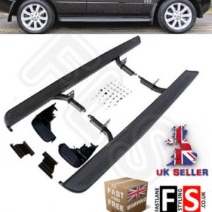 LAND ROVER RANGE ROVER VOGUE L322 OEM STYLE SIDE STEPS BARS RUNNING BOARDS 8012